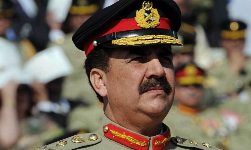 Army chief Raheel Sharif.
