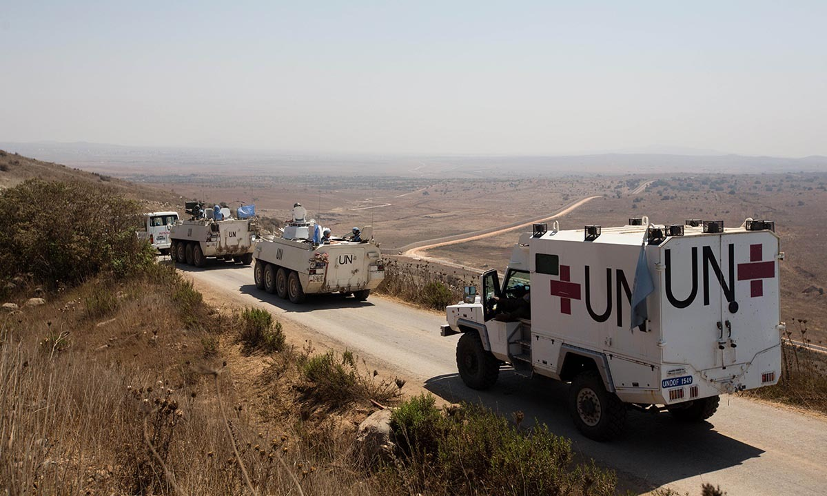'Great escape' for UN troops trapped on Golan Heights