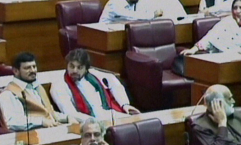 PTI MNAs inside the house