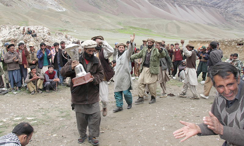 This sort of sports event also boosts up the economy of the local community in the Wakhan corridor