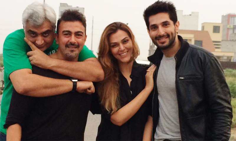 Left to right – Hassan Waqas Rana, Shaan Shahid, Sana Bucha and Bilal Ashraf.