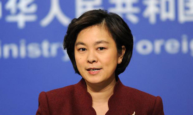 Chinese Foreign Ministry spokeswoman Hua Chunying. — Photo by AP