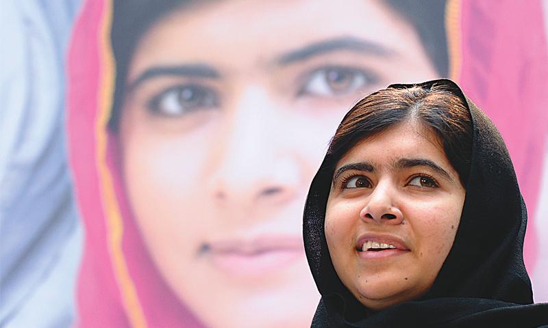 Malala Yousufzai.—AP