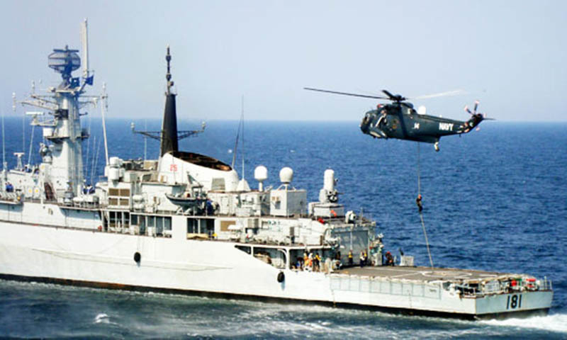 Naval commandos of PNS Iqbal rushed to the scene and a gunbattle ensued. One naval officer was killed and seven others were injured. — File photo by Reuters