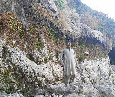 An adventurer at heart, Ali loved mountain climbing.