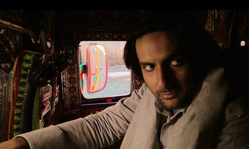 "Mohib Mirza in a scene from ""Dukhtar"". – Publicity Photo"
