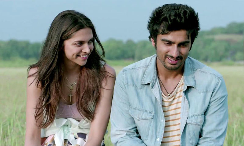 """Deepika Padukone and Arjun Kapoor in a scene from """"Finding Fanny"""". – Courtesy Photo"""