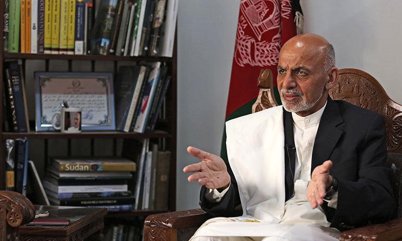 Afghan presidential candidate Ashraf Ghani Ahmadzai. — Photo by AP