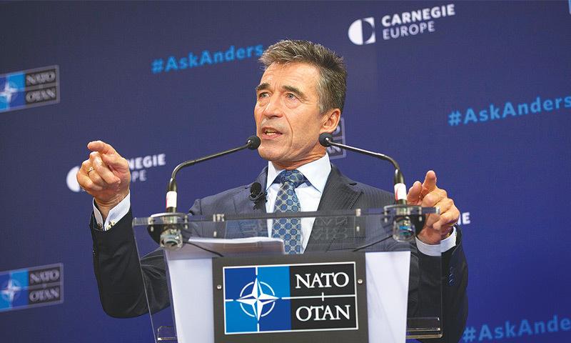 Anders Fogh Rasmussen.—AP