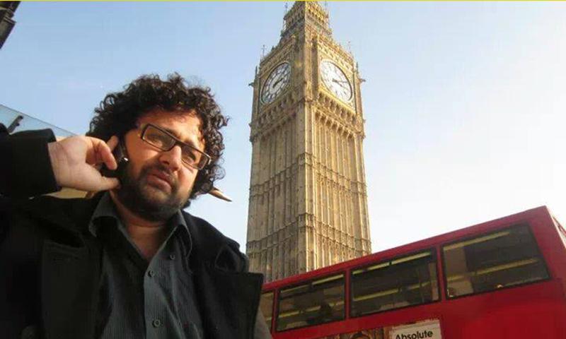 Journalist Faizullah Khan.— Photo courtesy Faizullah Khan Facebook page.