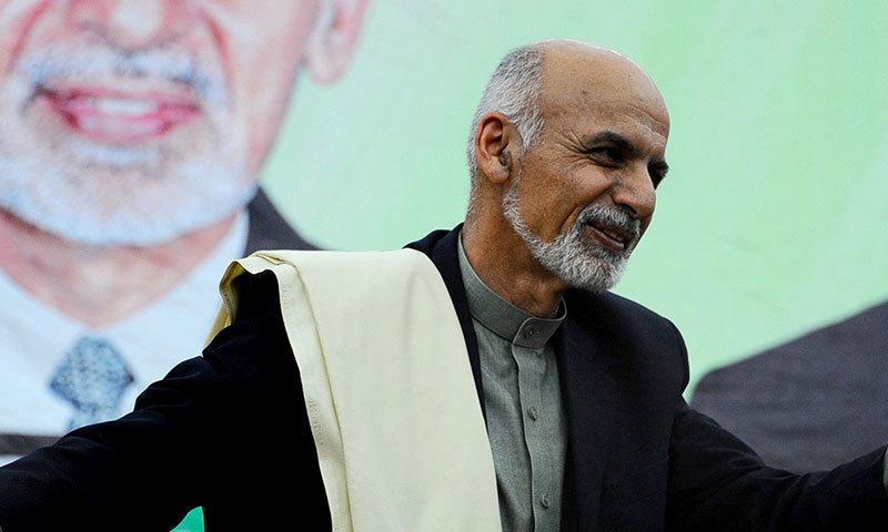Ashraf Ghani takes oath as new Afghan president
