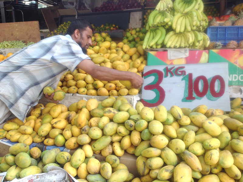 The mango season in India starts late in March and ends just when it kicks off in Pakistan – late June – with bilateral peace, both can make the aroma and the taste last longer!