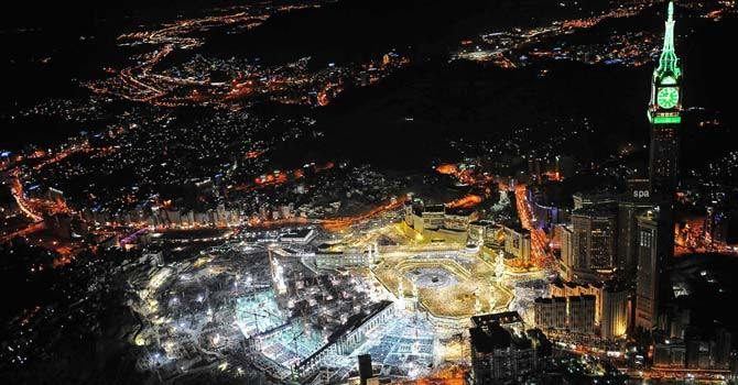 File photo of Makkah - AP