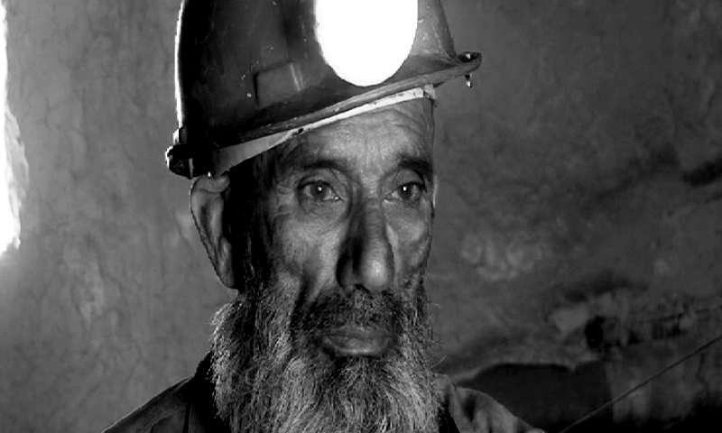 """""""Miners are always at the mercy of coal mine owners."""" -Photo by Ali Shah"""