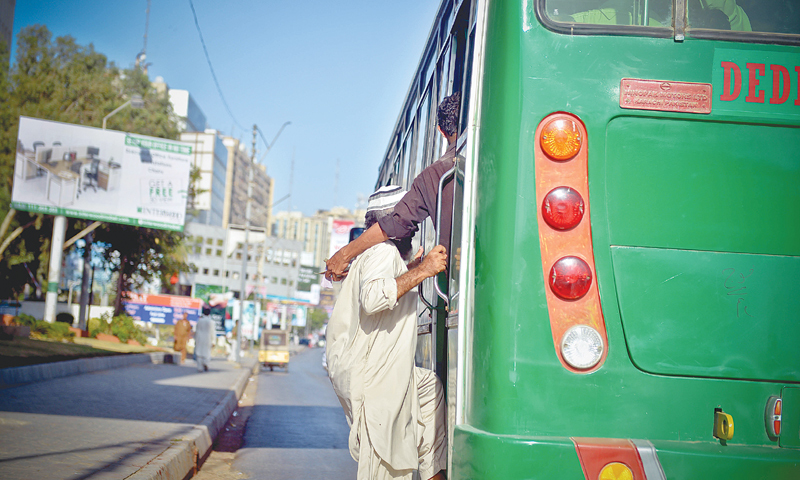 The bus conductor is your best friend on board.