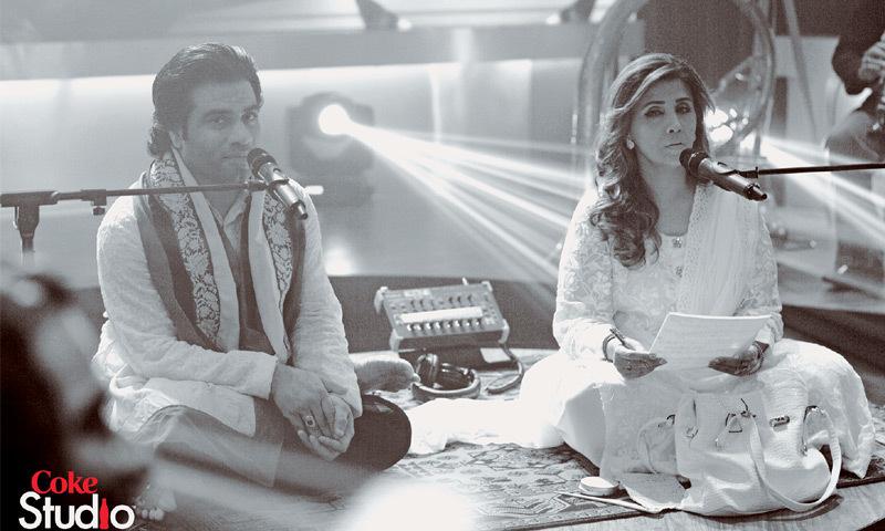 Javed Bashir and Humaira Channa