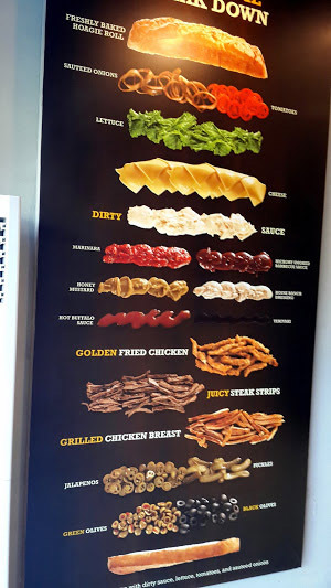 Breakdown of a Hoagie. – Photo by author.