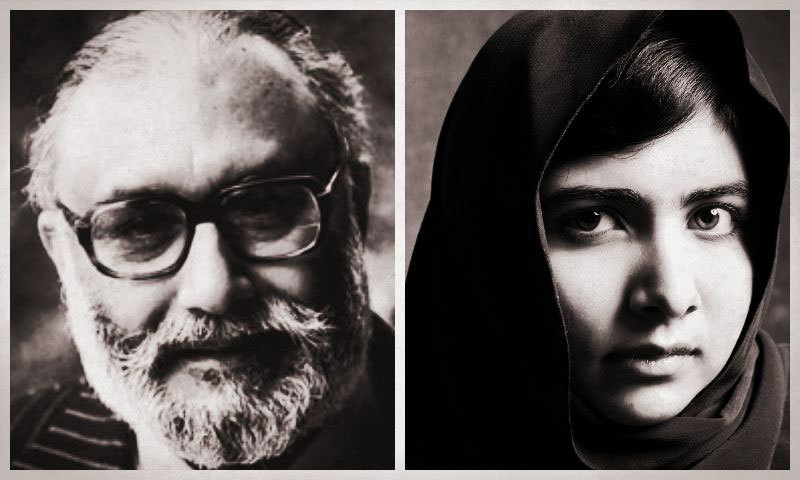 A letter from Dr Abdus Salam to Malala