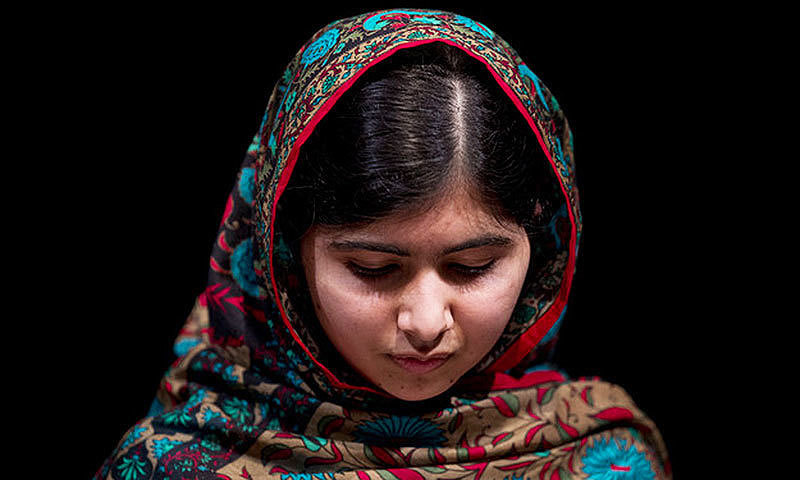 For those who criticise her, would they wish Malala's fate on their own daughters? —Photo by AP