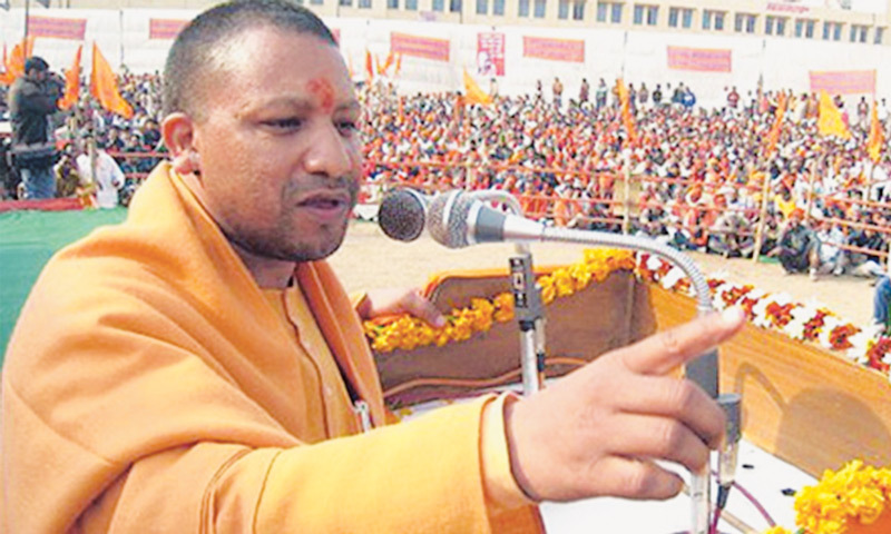 Adityanath has sparked controversy due to his strong Hindutva remarks made during campaigning in the past