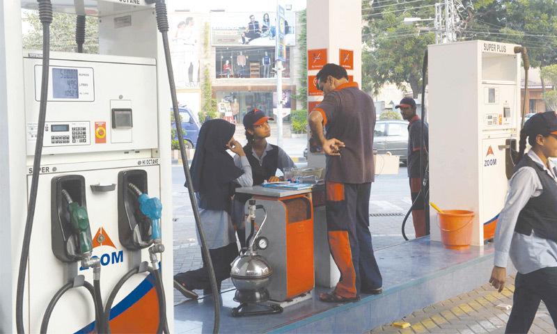 Girls at the gas station - Pakistan - DAWN.COM