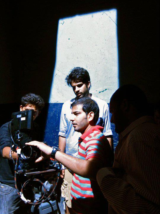 "Adnan Malik on the set of ""Mera Bichra Yaar""— Photo Courtesy: Adnan Malik"