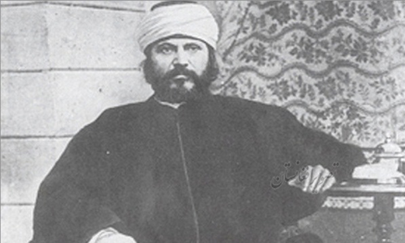 Pioneering 19th Century Pan-Islamic thinker Jalaluddin Afghani. Though he advocated the infusion of modernity in traditional Islamic thought, he was critical of India's Muslim Nationalists because he thought they were reducing the Muslims of South Asia as a nation confined to South Asia.