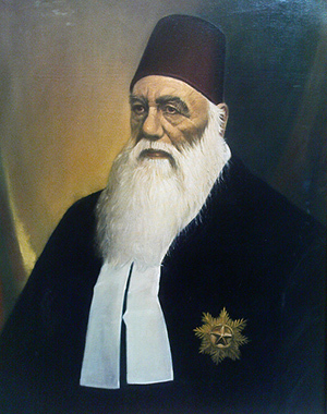 Sir Syed Ahmed Khan was one of the early architects of Muslim Nationalism (along with Syed Ameer Ali). Pan-Islamists and orthodox clergy criticised him for adopting the 'Western concept' of nationalism for the Muslims of South Asia.