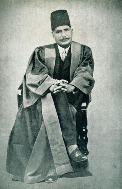 Poet-philosopher, Muhammad Iqbal (1877-1938), tried to bridge the universalism of Pan-Islamism with the Muslim nationalist identity that South Asia was trying to shape up.