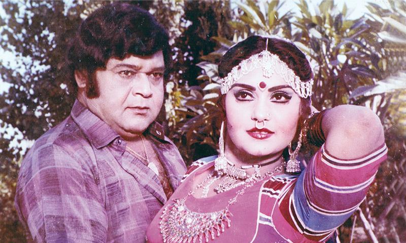 Nannah and Nazli in the film Dewar Bhabhi