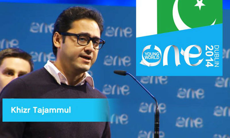 Pakistani youngster Khizr Imran wins first prize at One Young World Summit