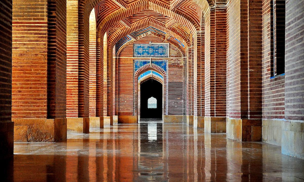 شاہ جہاں مسجد، ٹھٹھہ— فوٹو اویس وڑائچ