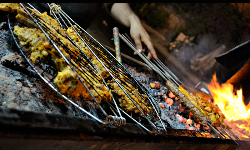 BBQ at Meerut. – Photo credits: Iman Mufti.