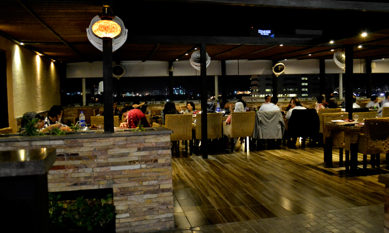 Ocean Grill by Zameer Ansari at Ocean Mall. – Photo credits: Iman Mufti