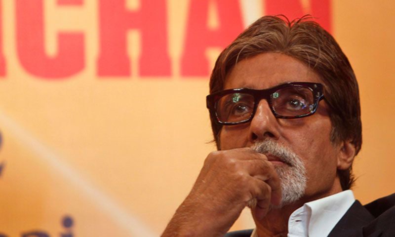 Amitabh Bachchan has been accused of raising the slogan 'Khoon ka badla khoon' (blood for blood) after then Indian PM Indira Gandhi was shot by her Sikh guards.—Photo by AP