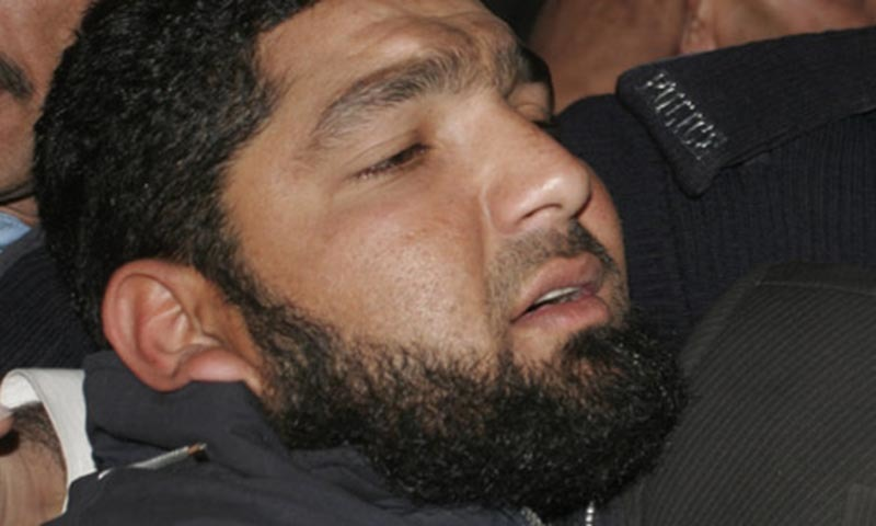 The image shows Mumtaz Qadri. — AP file photo