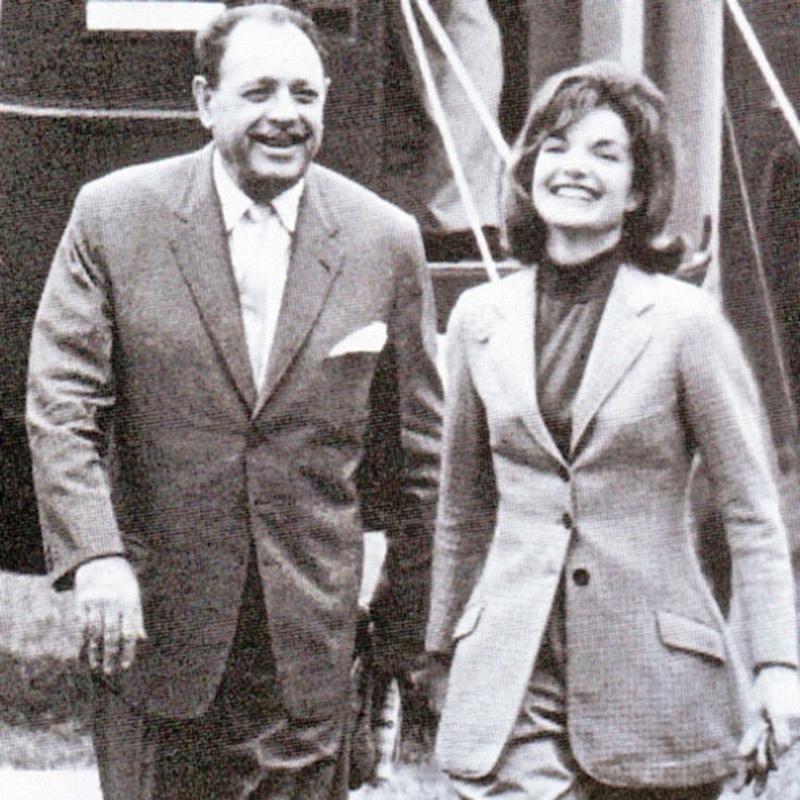 Ayub Khan with American First Lady, Jackie Kennedy (1961).