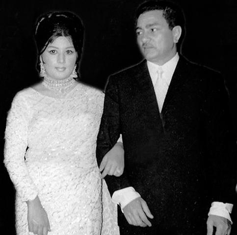 Riaz Shahid and Neelo, Photos courtesy Guddu Film Archive