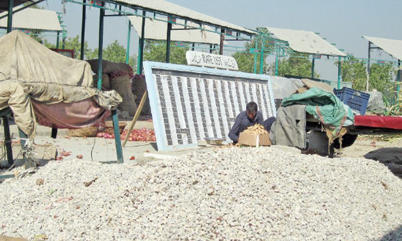 Peshawar Mor interchange has also had its effect on Islamabad's popular weekly bazaar.