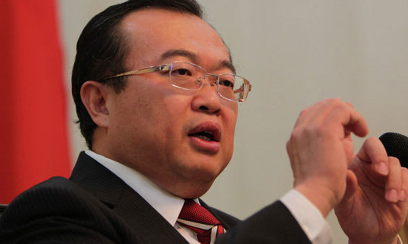 Assistant Foreign Minister of China, Liu Jianchao.—AP