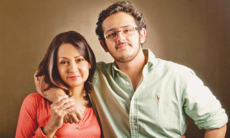 Family ties: Zeba with son Azaan, Photo: Mohammad Farooq