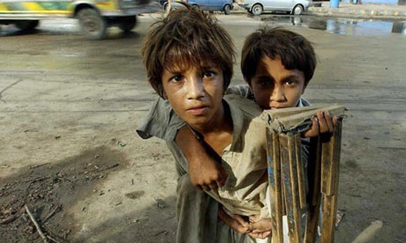 More than 1.2 million children live on the streets of Pakistan. Most of them are physically and sexually abused and end up finding solace in drugs. — AFP/File