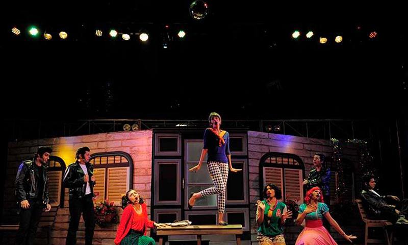 Sanam in the musical
