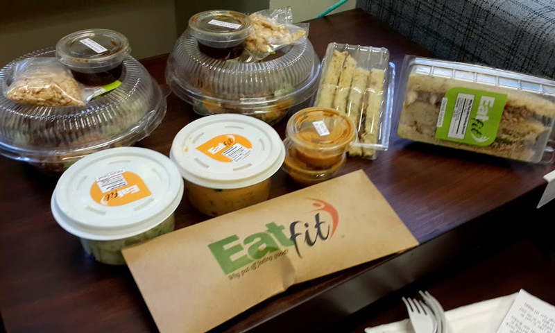 Eatfit delivers six days a week. - Photo by author.