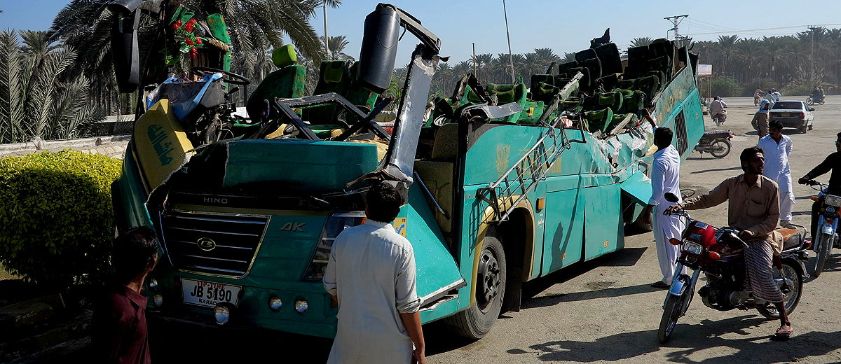 Pakistan's traffic accidents record: Punjab down, KP up since ...