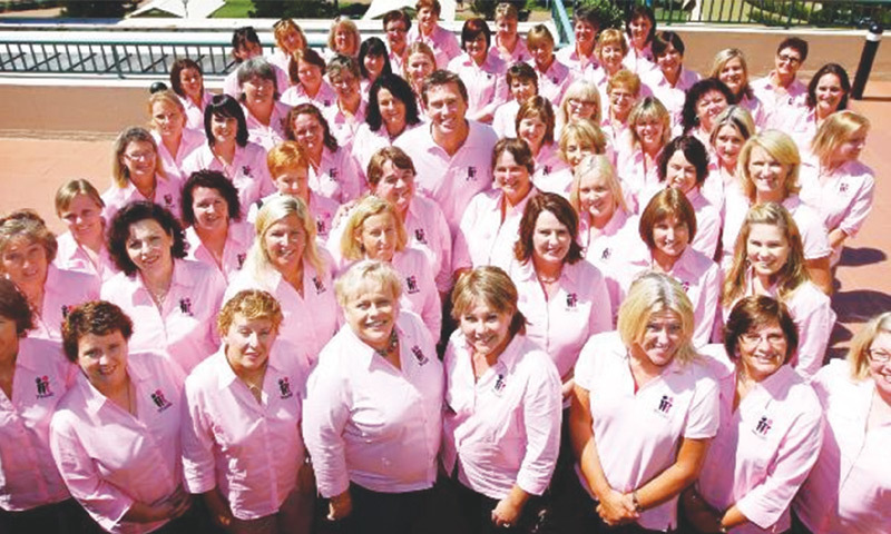 Glenn with McGrath Breast Care Nurses