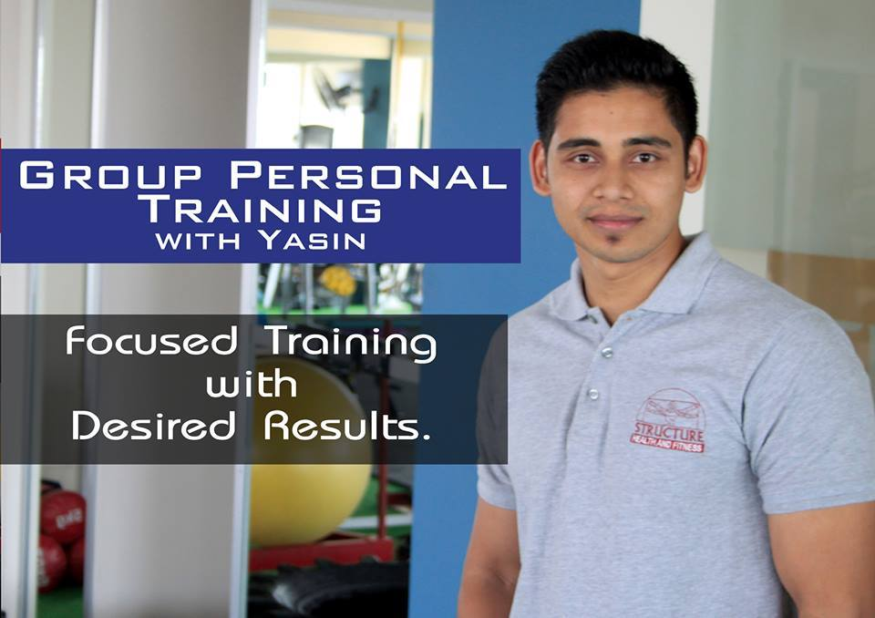 Personal trainer at Structure in Karachi. – Structure Health and Fitness Facebook Page