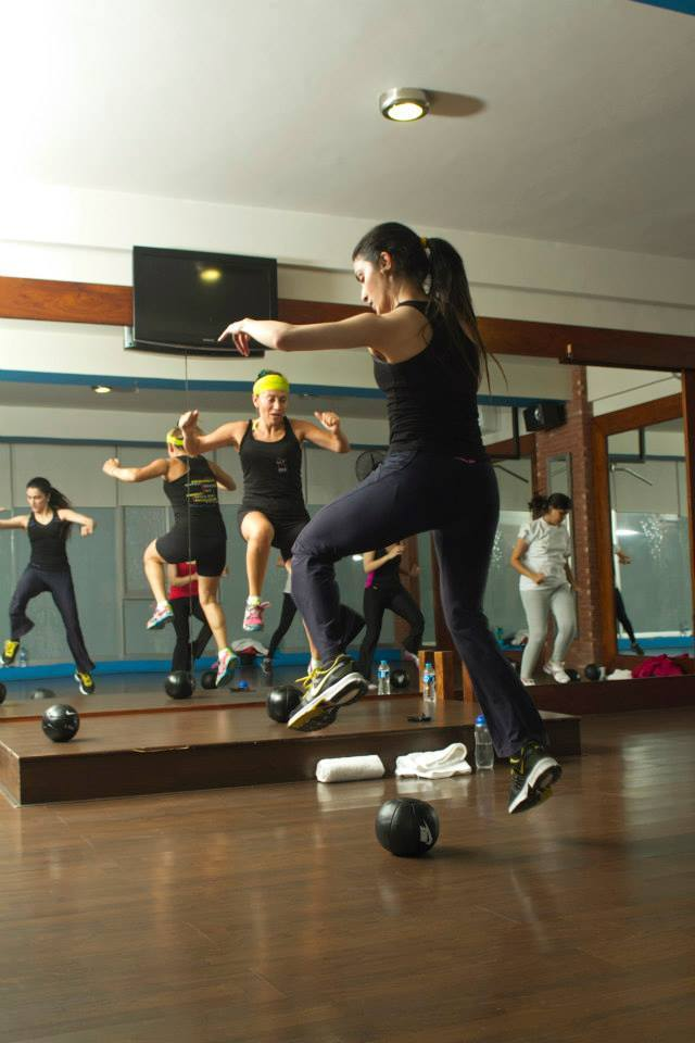 Jeanette's HIIT Insanity class.  – Photo courtesy: Studio X Facebook Page