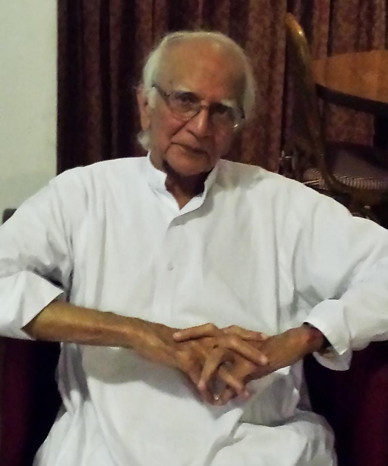 Dr Mubashir Hasan, whose house Zulfikar Ali Bhutto was arrested from on November 13, 1968.