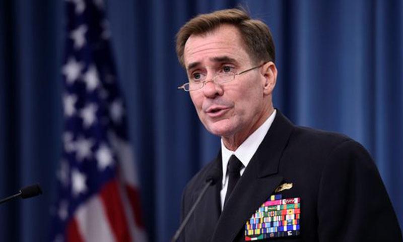Pentagon spokesman Rear Admiral John Kirby. — AP/File